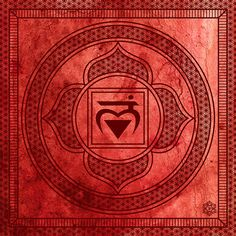 Items similar to Archival Quality Chakra Fine Art Print: Root Chakra. Muladhara Chakra on Etsy Chakra Mantra, Chakra Meditation, Chakra Healing, Chakra Symbole, Chakra Raiz, Muladhara Chakra, Chakra Tattoo, Artwork Design, Sacred Geometry