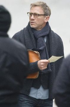 Daniel Craig as Mikael Blomkvist, fictional Swedish journalist from Stieg Larsson's Millennium trilogy.
