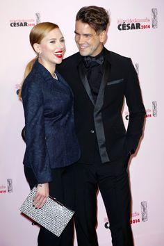 Pin for Later: Alle Stars, die sich 2014 getraut haben Scarlett Johansson und Romain Dauriac Scarlett hielt die Heirat zu Journalist Romain erst mal geheim. Erst kürzlich wurde bekannt, dass die beiden bereits im Oktober geheiratet hatten.