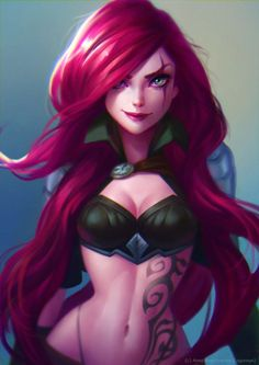 One of my favorite characters Katarina from League of Legends  https://www.instagram.com/lagunaya/