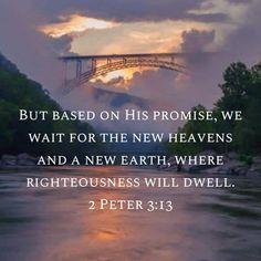 2 Peter 3:13 #scripture #bible Scripture Verses, Bible Verses Quotes, Bible Scriptures, Faith Quotes, Prayer Quotes, Spiritual Quotes, 2 Peter 3, Favorite Bible Verses, Gods Grace