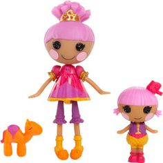 Mini Lalaloopsy Littles Trouble Dusty Trails and Mini Lalaloopsy Prairie Dusty Trails Dolls