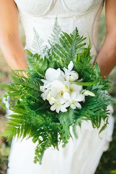 Best of 2015 Fiji Wedding Bouquet Fiji Weddings, Planning & Inspiration - Bula Bride Tropical Wedding Bouquets, Simple Wedding Bouquets, Bride Bouquets, Bridesmaid Bouquet, Floral Bouquets, Floral Wedding, Green Wedding, Beach Wedding Reception, Wedding Ceremony Flowers