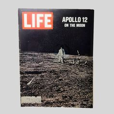 December 12, 1969 Original Entire Life Magazine - Apollo 12 on the Moon - MAG335 - December 12, 1969 back issue Life Magazine - Apollo 12 on the Moon - Vintage Kool Cigarette ad, vintage photos, articles and advertisements - FOR SALE at www.ClaudiasBargains.com