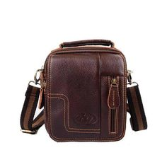Fashion Men Messenger Bags Leather Retro Shoulder Bags For Men Genuine Leather Bags Men's Travel Bags Small Handbags  #people #redcarpet #girls #fashionshow #couturier #musthave #moda #fashionblog #igdaily #fashion