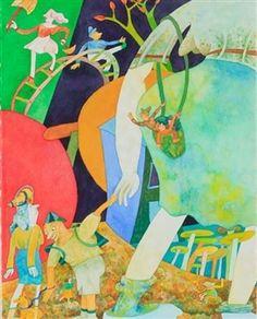 A Little Walk By Gladys Nilsson ,1996