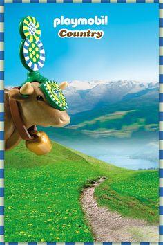 Playmobil Mountain Life Alpine Cable Car Fun Run Toys