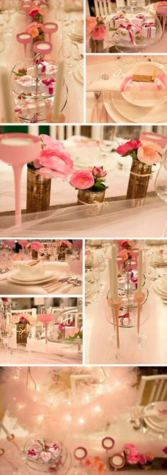 Wedding table decoration by Monica Karlstein. Photo: Denise Lissert.
