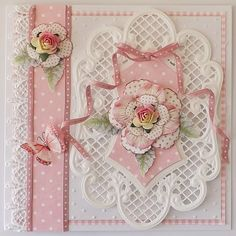 Rose Trellis Cards Kit