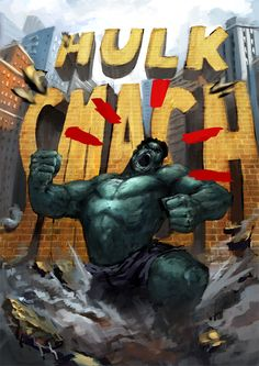 #Hulk #Fan #Art. (Hulk Smash!) By: Torei. (THE * 5 * STÅR * ÅWARD * OF: * AW YEAH, IT'S MAJOR ÅWESOMENESS!!!™) ÅÅÅ+