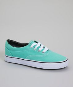 This Teal Short Lace Sneaker is perfect! http://www.zulily.com/?SSAID=930758&tid=acceleration_930758 #zulilyfinds
