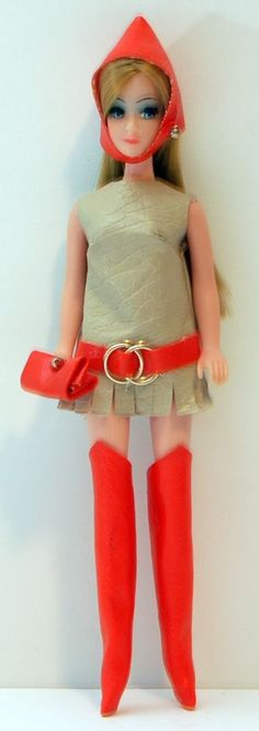 Topper Dawn Doll - Strawberry Blonde, Side Part, S11A Dawn, Taiwan Body! Lot B2 #DollswithClothingAccessories