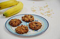 מתכון עוגיות בננה ושיבולת שועל טבעוניות,ממרכיבים בריאיםוכל כך טעימות   מצרכים (12 עוג