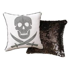 I pinned this Skull Pillow from the Naked Decor event at Joss and Main!