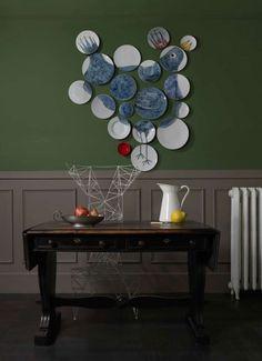 Seaseight Design Blog: HOME DECOR // HANGING PLATES + DIY