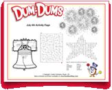 Celebrate the #4thofJuly with fun #printable #activities from #DumDums. Download more seasonal printable activities at DumDumPops.com! 4th Of July, Coloring Pages, Activities For Kids, Printables, Fun, Quote Coloring Pages, Independence Day, Children Activities, Print Templates
