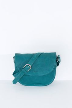 Cute and compact, this structured new style features a rigid body and printed leather gusset adjustable long strap with buckle finish magnetic. Saddle Bags, Compact, Shells, Teal, Printed, Leather, Accessories, Style, Fashion