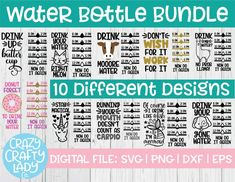 Funny Water Bottle, Water Bottle Tracker, Water Bottles, Fitness Design, Design Exterior, Circuit Projects, Vinyl Projects, Circuit Crafts, Vinyl Crafts