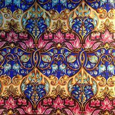 "369 Likes, 8 Comments - Eliane Federzoni (@dreams.colors) on Instagram: ""#patterns #aquarela #watercolors #coloringbook #coloringforadults #johannabasford…"""