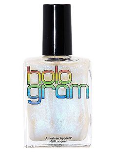 A unique holographic shade of nail polish. Manufactured in the USA. Cruelty free, DBP, toluene and formaldehyde free.