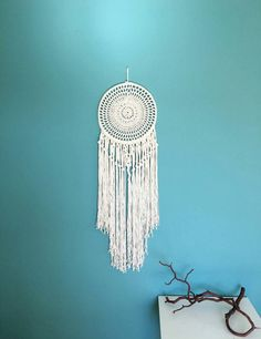 Check out this item in my Etsy shop https://www.etsy.com/uk/listing/476989541/macrame-wall-hanging-bohemian-decor