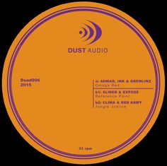 """Clima & Red Army - Jungle Justice (Dust Audio - 12"""" vinyl & digital)"""