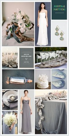 TREND: Neutral Nautical Wedding Inspiration