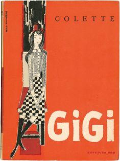 Gigi, Colette, Estúdios Cor, design Paulo-Guilherme, 1958