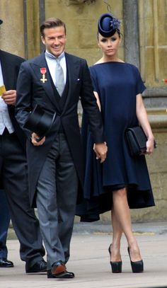 The Greatest Moments in the Fashion Career of Ralph Lauren | Vanity Fair.. David Beckham wearing Ralph Lauren to the royal wedding of Prince William and Kate Middleton in April 2011
