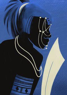 Ogum Art Print by Andressa Meissner - X-Small Orisha, Pop Art Drawing, Art Drawings, Dorm Canvas Art, African Mythology, Yoruba Religion, Fall Art Projects, African American Artist, Africa Art