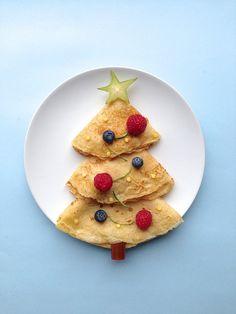 Pancake-christmas tree