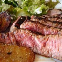 simple coffee steak rub