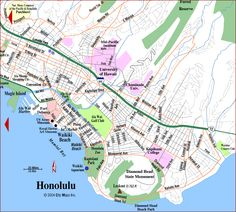 Honolulu Map