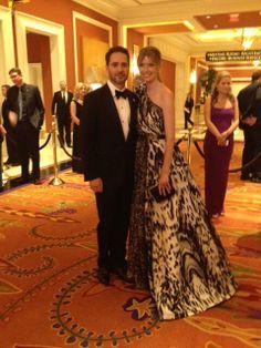 Jimmie & Chandra Johnson at the 2013 NASCAR Awards Banquet