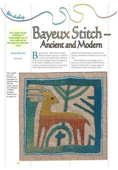 Medieval Embroidery, Embroidery Tools, Blackwork Embroidery, Embroidery Needles, Hand Embroidery Designs, Embroidery Techniques, Embroidery Patterns, Felt Embroidery, Bayeux Tapestry