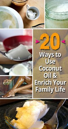 20 Ways to Use Coconut Oil & Enrich Your Family Life