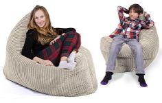 Bekväma sittpuffar i två modeller