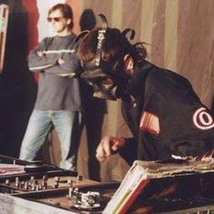 Sid Wilson DJ Starscream Slipknot   Prosthetics. #slipknot #dj #starscream #zero #oldtimes #sidwilson #mask#gas