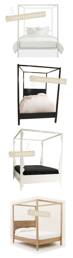 4posterbed2_H2Design bedroom diy, beach bedroom, four poster beds