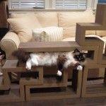 Katris Modular Cardboard Cat Scratcher Furniture Review