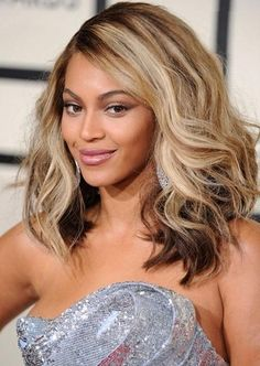Custom Beyonce Knowles Fabulous Highlight Hairstyle Wavy 12Inches Natural Lace Wig, $93.19 | Prettywighair.com