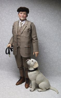 The Earl of Grantham by Sharon Cariola, 'Isis' yellow lab by Kerri Pajutee