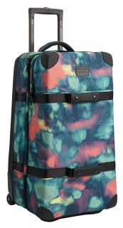 !!!Burton Reisekoffer Wheelie DBL Deck Aura Dye Ballistic bunt,blau Carry On Luggage, Travel Luggage, Travel Bags, Skateboard, Skate Wheels, Snowboarding Gear, Double Deck, Trolley