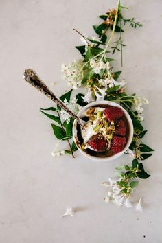 A recipe for salted chocolate, raspberry and pistachio pots de crème from Hummingbird High.