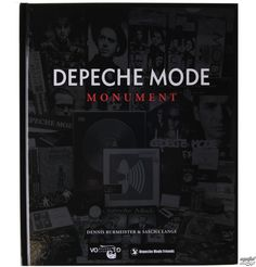 Another book for my Rock Sofa table Depeche Mode - Monument