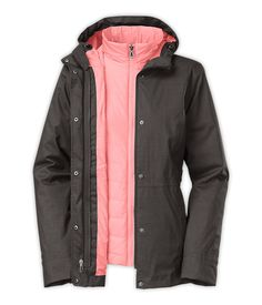 The North Face Women's Jackets & Vests Lifestyle WOMEN'S LANEY TRICLIMATE® JACKET