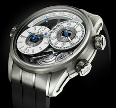 """Breva Watch Genie 02 Terra Watch With First Ever Mechanical Altimeter - get the scoop: http://www.ablogtowatch.com/breva-genie-02-terra-watch-first-ever-mechanical-altimeter/ """"Breva, a new high-end Swiss watch brand that debuted last year in 2013 - has just followed-up with their second watch release. The Genie 02 Terra follows up the brand's first model - which was the Genie 01 Barometer..."""""""
