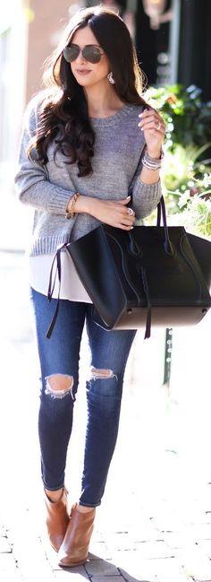 Black + Grey