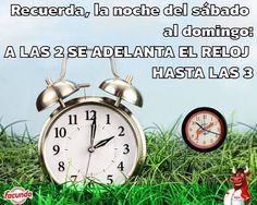 Cambio horario - Facundo #dayketing