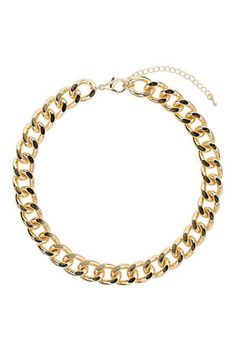 Thick Chunky Chain Collar - Necklaces - Jewellery  - Bags & Accessories